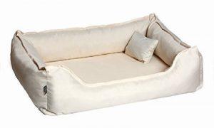 Lit de chien DONALD ORTHO Vitale Anti-Cheveux 120cm XL crème Revêtement en téflon avec Matelas de confort de la marque tierlando image 0 produit