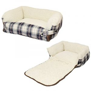 Me & My Lit pliant pour Chien/Chat avec protecteur de canapé - Disponible en bleue ou rouge - Small/Medium/Large de la marque Me & My Pets image 0 produit