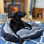 Me & My Pets Panier pour chien super doux Grand Gris/noir de la marque Me & My Pets image 1 produit