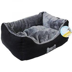 Me & My Pets Panier ultra doux pour chien Entièrement lavable en machine Noir/gris de la marque Me & My Pets image 0 produit