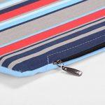 Niche pour chien / chat et tabouret, rayures bleues / multicolores, 50x50x50 cm de la marque SAUERLAND image 3 produit