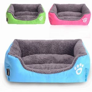 OMGO Canapé Lit pour Chien Douillet Panier Maison pour Chat Chiot Amovible Microfibres 3 Tailles de la marque OMGO image 0 produit