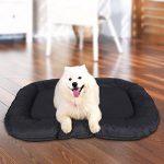 Panier lit chien Dog Bed couchage Coussin Matelas pour chien chats L 80 x 60 x 15 cm PGW60H de la marque Songmics image 1 produit
