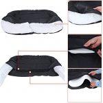 Panier lit chien Dog Bed couchage Coussin Matelas pour chien chats L 80 x 60 x 15 cm PGW60H de la marque Songmics image 6 produit