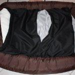 Panier pour chien couverture déhoussable 130x110 Noir de la marque ETS image 3 produit