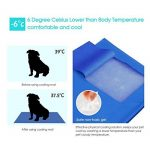 Pecute - Coussin de Gel Rafraîssant pour Chien Chat Animaux (M(50*65cm)) de la marque Pecute image 3 produit