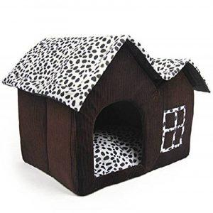Pet Supplies Niche double haut de gamme pour chien Marron 55 x 40 x 42 cm de la marque Pet Supplies image 0 produit