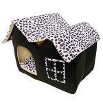 Pet Supplies Niche double haut de gamme pour chien Marron 55 x 40 x 42 cm de la marque Pet Supplies image 2 produit