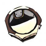Qianle Parc Enclos Cage de Chien Octogonal Panier Niche pour Chiots Pliable café S de la marque Qianle image 1 produit