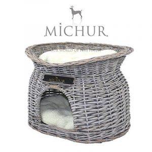 Richy - Panier pour chien et chat en osier - grandeur (environ.): 55x39x43cm de la marque Michur image 0 produit