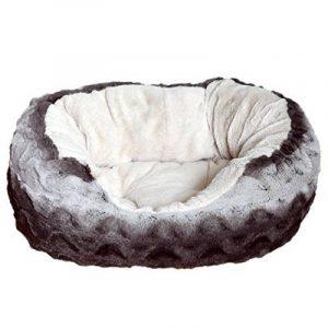 Rosewood Snuggle Panier-Lit pour Chien Peluche Moelleuse Gris/Beige 50 cm de la marque ROSEWOOD image 0 produit