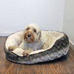 Rosewood Snuggle Panier-Lit pour Chien Peluche Moelleuse Gris/Beige 50 cm de la marque ROSEWOOD image 1 produit