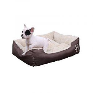 Songmics L Panier Lit Pour Chien Dog Bed Coussin Matelas, 60 x 48 x 15 cm PGW02Z de la marque Songmics image 0 produit