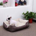 Songmics L Panier Lit Pour Chien Dog Bed Coussin Matelas, 60 x 48 x 15 cm PGW02Z de la marque Songmics image 1 produit