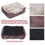 Songmics L Panier Lit Pour Chien Dog Bed Coussin Matelas, 60 x 48 x 15 cm PGW02Z de la marque Songmics image 4 produit