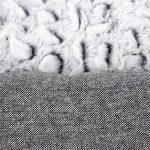 Songmics Panier lit chien 80 x 60 x 26 cm Dog Bed Coussin Matelas pour chien chats PGW26G de la marque Songmics image 4 produit