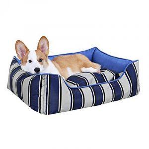 Songmics Panier pour chien M 75 x 60 x 23 cm Déhoussable et Lavable en avec accoudoir et dossier PGW23B de la marque Songmics image 0 produit