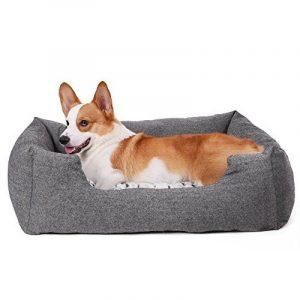 Songmics Panier pour lit chien Dog Bed Coussin Matelas 60 x 50 x 22 cm PGW22G de la marque Songmics image 0 produit