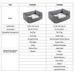 Songmics Panier pour lit chien Dog Bed Coussin Matelas 60 x 50 x 22 cm PGW22G de la marque Songmics image 5 produit