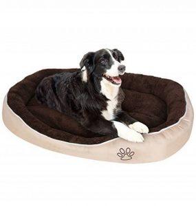 Songmics XL 105 x 75 x 15 cm Panier Lit Pour Chien Dog Bed Coussin Matelas PGW44M de la marque Songmics image 0 produit