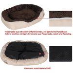Songmics XL 105 x 75 x 15 cm Panier Lit Pour Chien Dog Bed Coussin Matelas PGW44M de la marque Songmics image 4 produit
