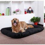 Songmics XL Panier Lit Pour Chien Dog Bed Coussin Matelas 100 x 70 x 15 cm PGW70H de la marque Songmics image 1 produit
