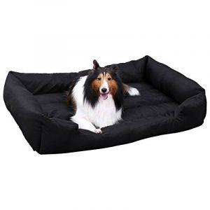 Songmics XL Panier Pour lit chien Dog Bed Coussin Matelas Animaux 100x70x28cm PGW28H de la marque Songmics image 0 produit
