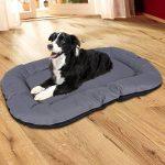 Songmics XXL Lit pour chien pour intérieur et extérieur 120 x 85 cm PGW88G de la marque Songmics image 1 produit