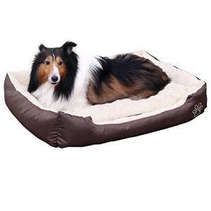 Songmics XXL Panier Lit Pour Chien Dog Bed Coussin Matelas 90 x 70 x 17 cm PGW04Z de la marque Songmics image 0 produit