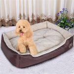 Songmics XXL Panier Lit Pour Chien Dog Bed Coussin Matelas 90 x 70 x 17 cm PGW04Z de la marque Songmics image 1 produit