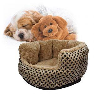 SymbolLife cosy et chaleureuse petite peluche douce Pet Puppy Dog Cat Polka Dot Chambres Maison Coussin Small Or de la marque SymbolLife image 0 produit