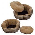 SymbolLife cosy et chaleureuse petite peluche douce Pet Puppy Dog Cat Polka Dot Chambres Maison Coussin Small Or de la marque SymbolLife image 4 produit