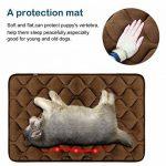 Tapis doux pour chien, Coussin de luxe et durable, Tapis antidérapant et lavable de chien Hero Dog (brun, XL) de la marque Hero Dog image 1 produit
