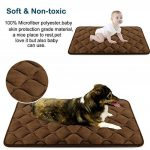 Tapis doux pour chien, Coussin de luxe et durable, Tapis antidérapant et lavable de chien Hero Dog (brun, XL) de la marque Hero Dog image 2 produit