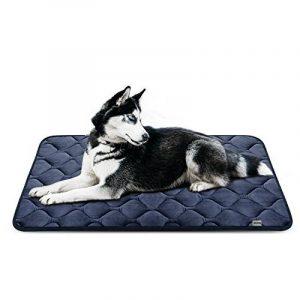 Tapis doux pour chien, Coussin de luxe et durable, Tapis antidérapant et lavable de chien Hero Dog (Gris, grande taille) de la marque Hero Dog image 0 produit