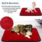 Tapis doux pour chien, Coussin de luxe et durable, Tapis antidérapant et lavable de chien Hero Dog (Rouge, Petite) de la marque Hero Dog image 2 produit