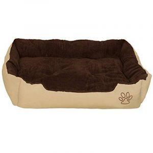 """TecTake Lit douillet pour chiens panier corbeille couchage brun - diverses tailles au choix - (""""XXL"""") de la marque TecTake image 0 produit"""