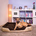 """TecTake Lit douillet pour chiens panier corbeille couchage brun - diverses tailles au choix - (""""XXL"""") de la marque TecTake image 1 produit"""