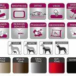 tierlando Maddox Lit orthopédique en similicuir pour chien Graphite 120 cm Taille XL de la marque tierlando image 4 produit