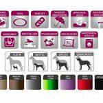tierlando® S5-02 Sammy canapé-lit robuste pour chien taille XXL 140cm graphite anthracite de la marque tierlando image 1 produit