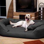 tierlando S6-02 SAMMY robuste canapé-lit pour chien Taille XXXL 170cm GRAPHITE de la marque tierlando image 1 produit