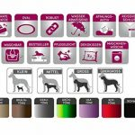 tierlando S6-02 SAMMY robuste canapé-lit pour chien Taille XXXL 170cm GRAPHITE de la marque tierlando image 2 produit