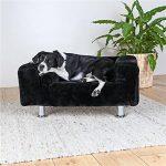 Trixie Roi des chiens Canapé, 78x 55cm, Noir de la marque Trixie image 1 produit