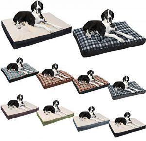 WOLTU® HT2086sz2-c Coussin de chien lit pour chien tapis de chien anti-dérapant Taille XL 90*70*10cm,Modèle 2 Noir de la marque Woltu image 0 produit