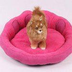 ZKOO Coussin Chaud Lit Canapé pour Animaux Chiot Chien Chat en Hiver Chiens Panier Lit (Rose,M) de la marque ZKOO image 1 produit