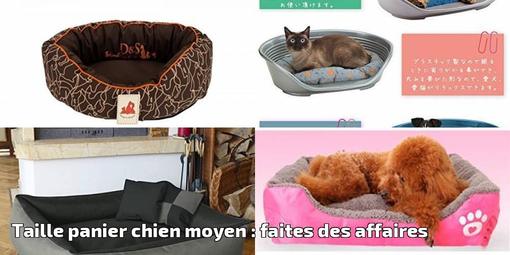 taille panier chien moyen faites des affaires pour 2018 meilleurs coucouches. Black Bedroom Furniture Sets. Home Design Ideas