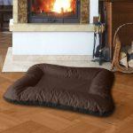 BedDog VERA 2en1, Noir/Brun, XXL 120x90 cm, 7 couleurs au choix, Panier corbeille, lit pour chien, coussin de chien de la marque BedDog image 0 produit