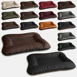 BedDog VERA 2en1, Noir/Brun, XXL 120x90 cm, 7 couleurs au choix, Panier corbeille, lit pour chien, coussin de chien de la marque BedDog image 3 produit