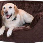 Henry Lit pour chien en mousse 5 cm XXXL 120 x 100cm - Marron de la marque Knuffelwuff image 3 produit