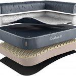Knuffelwuff - Un lit d'angle pour chien orthopédique - Arizona 83cm x 63cm gris de la marque Knuffelwuff image 0 produit